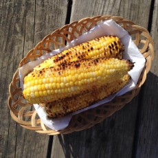 Chipotle Grilled Corn with Lime