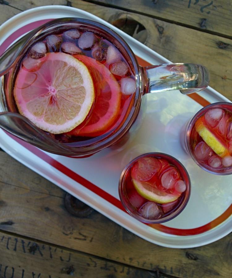 Red Zinger Ice Tea