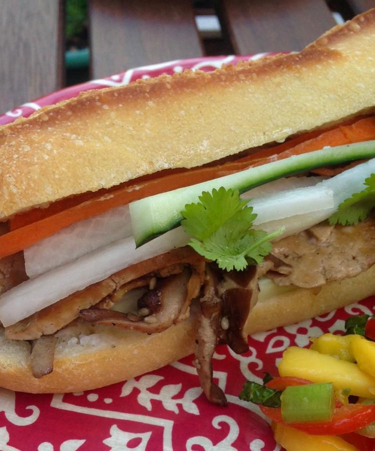 Tofu Shiitake Banh Mi