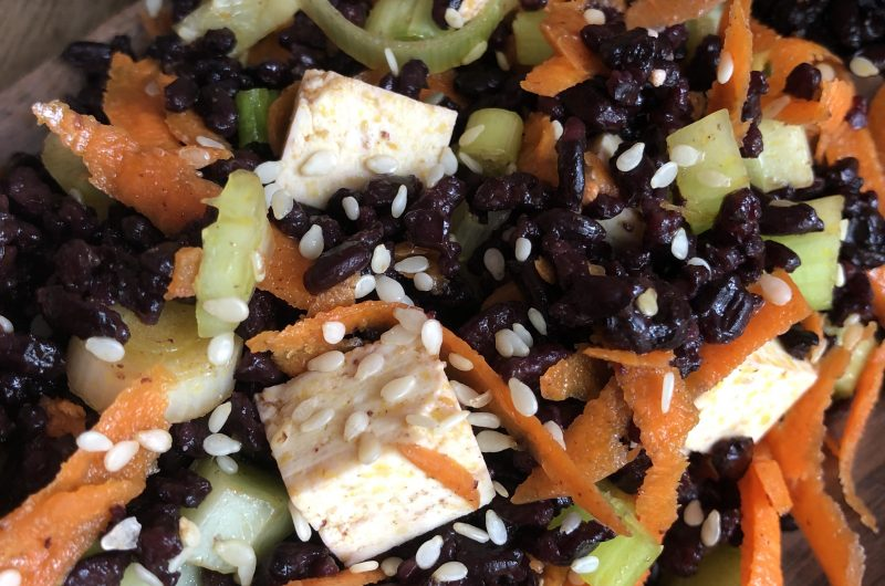 Forbidden Rice Salad