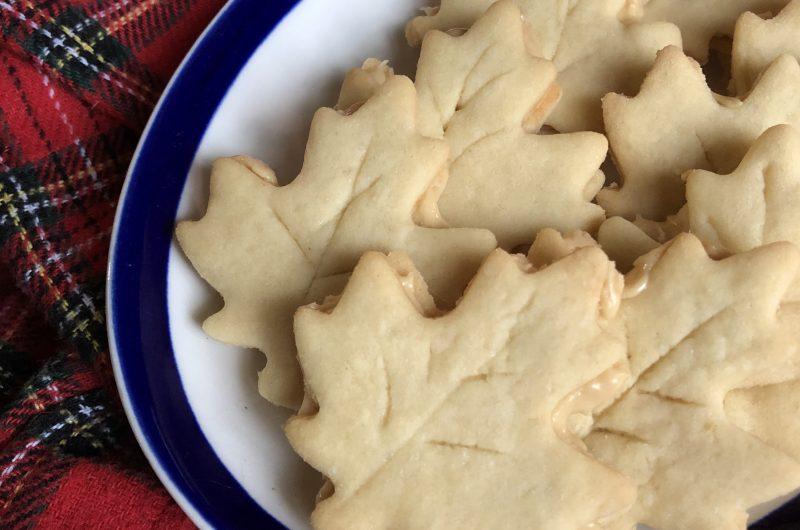 (Vegan) Maple Sandwich Cookies