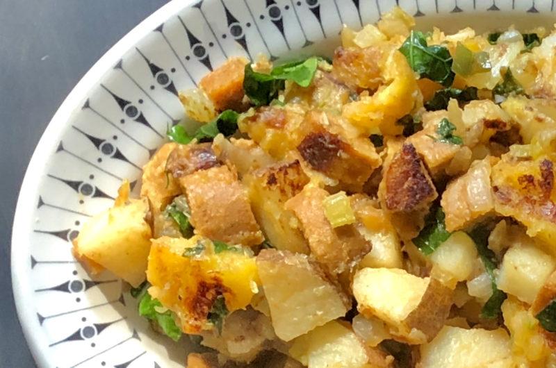 Vegan Sausage & Plantain Hash