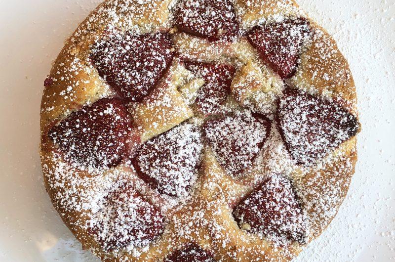 Strawberry Moon Cake